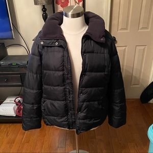 Old Navy quilted jacket. Black Size XXL.